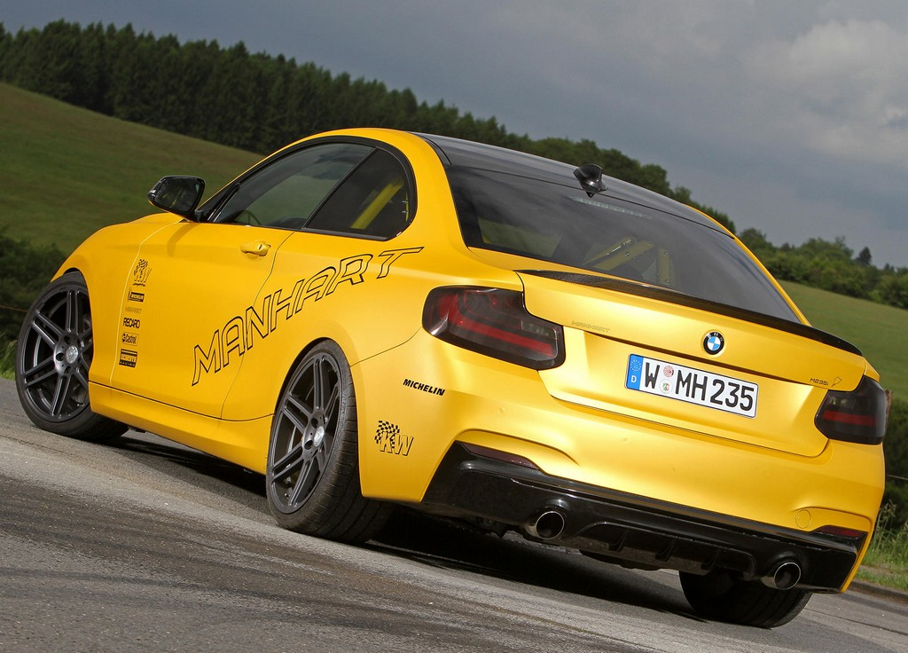 Manhart BMW M235i 0 600x431 At MH2 Clubsport