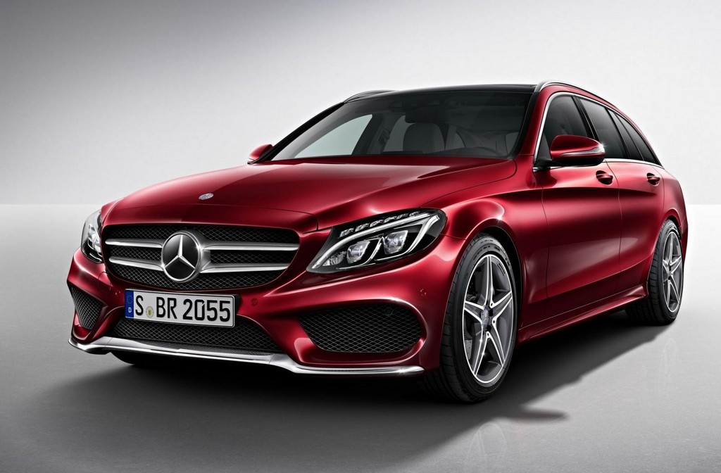 2015 mercedes c class estate amg line announced. Black Bedroom Furniture Sets. Home Design Ideas