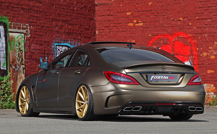 Mercedes Cls 350 Cdi Tuning Kit By Fostla