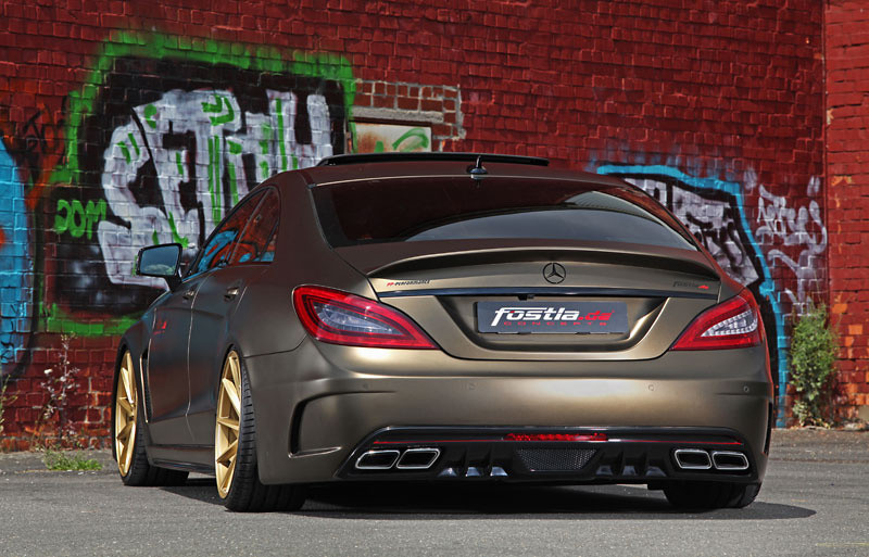 mercedes cls 350 cdi tuning kit by fostla. Black Bedroom Furniture Sets. Home Design Ideas