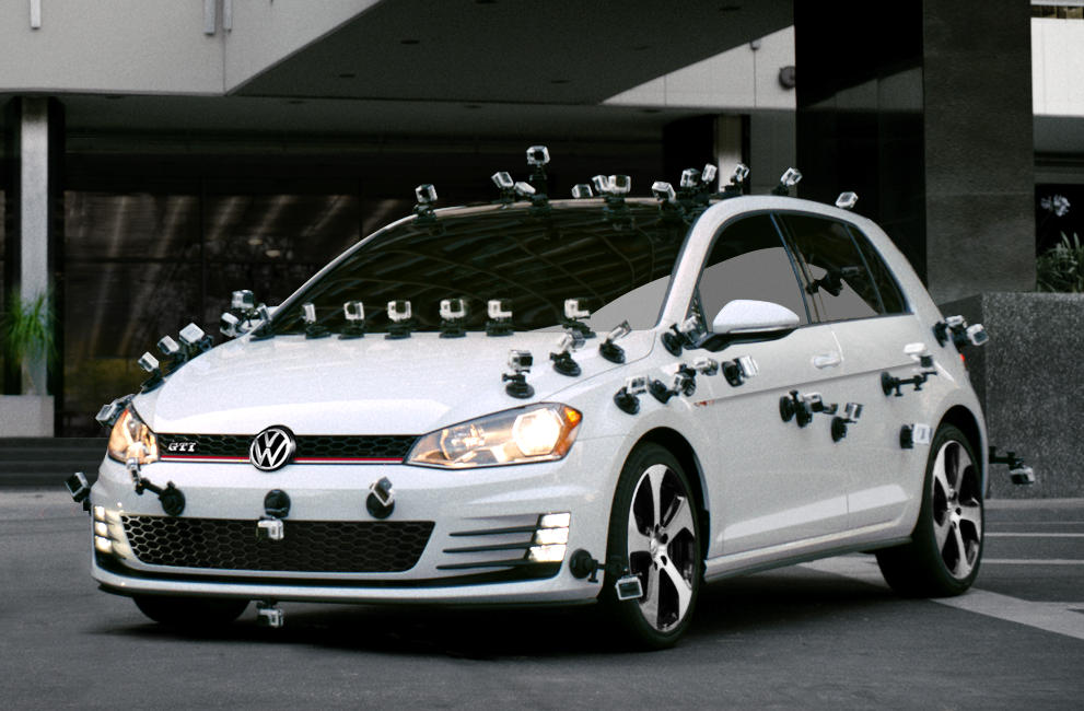 Tanner Foust Drives GoPro-Ridden Golf GTI in Interactive Ad