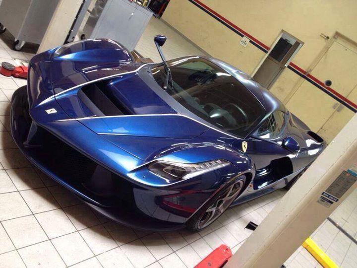 Who Owns Mazda >> Ronaldo's Blue LaFerrari Scooped?