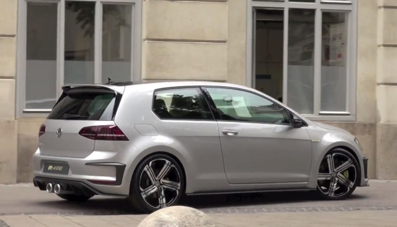 Vw Golf R 400 Concept Sounds Like A Proper Sports Car