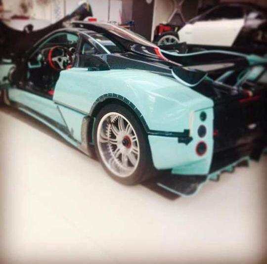 Pagani Zonda X New Pictures And Details