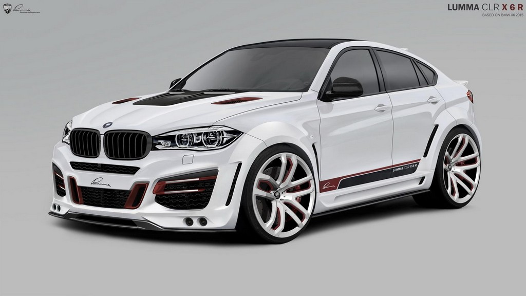2015 Bmw X6 By Lumma Design Preview