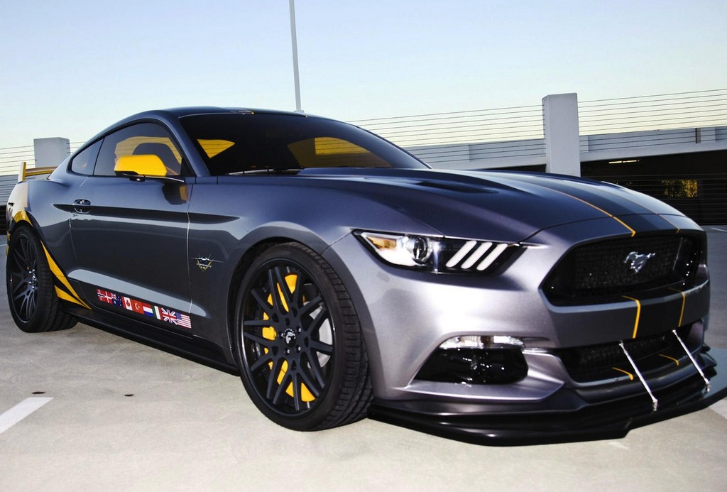 2015 Ford Mustang F-35 Lightning Revealed - Motorward