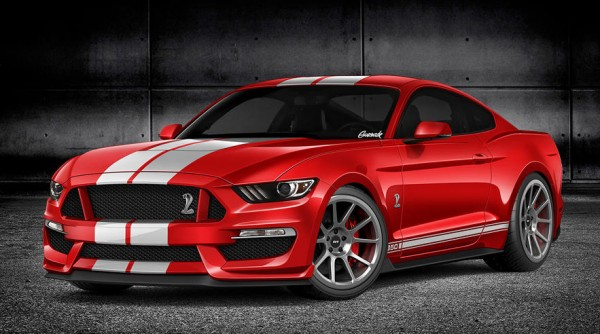 2016 Ford Mustang GT350 600x334 at 2016 Ford Mustang GT350 Previewed in Rendering