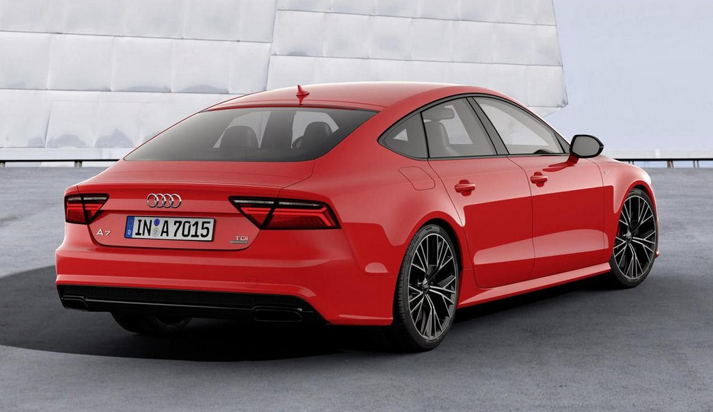 audi a7 sportback competition celebrates tdi. Black Bedroom Furniture Sets. Home Design Ideas