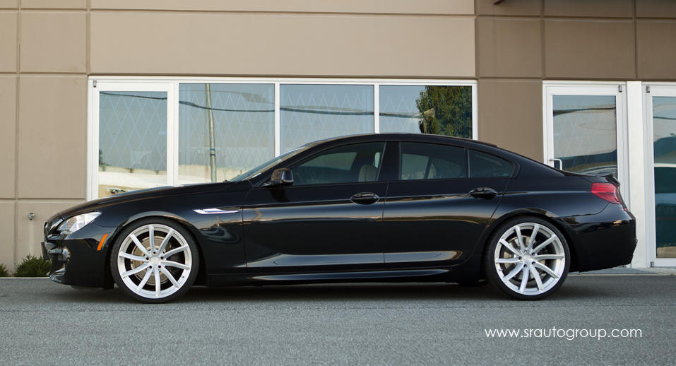 Low Riding Bmw 650i Gran Coupe By Sr Auto