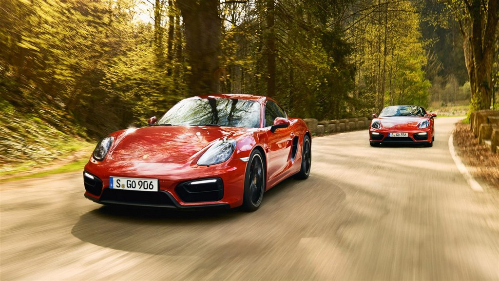 Porsche Gts Twins In Black Forest Photo Gallery