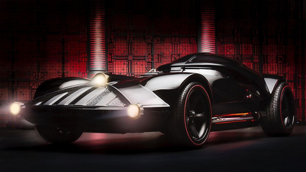 Full Size Hot Wheels Darth Vader Car Unveiled
