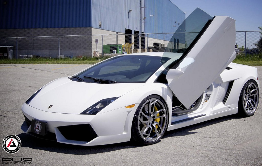 lamborghini gallardo on pur and lsd. Black Bedroom Furniture Sets. Home Design Ideas