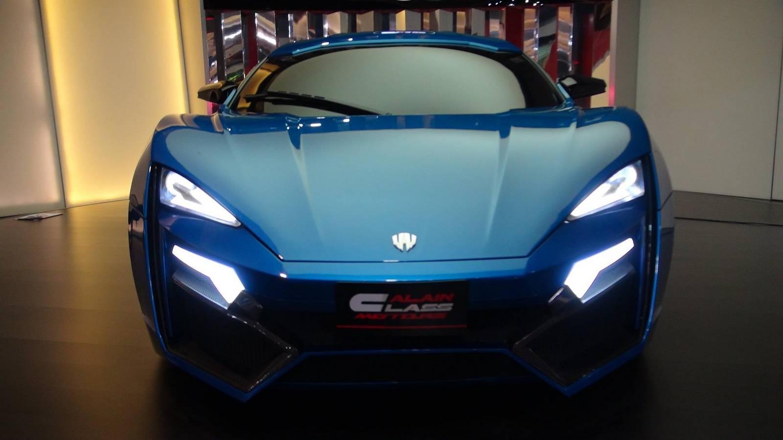 Lykan Hypersport On Sale At Al Ain Class Motors