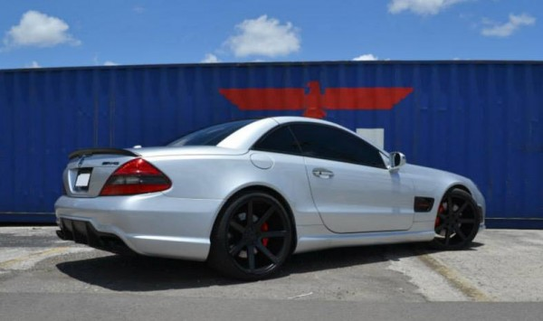 MC Customs SL63 0 600x355 at MC Customs Mercedes SL63 AMG on Niche Wheels
