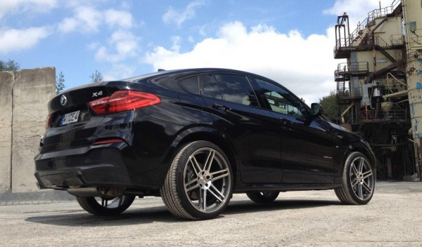 Manhart BMW X4 0 600x352 at Manhart BMW X4 Diesel Gets 375 Horsepower