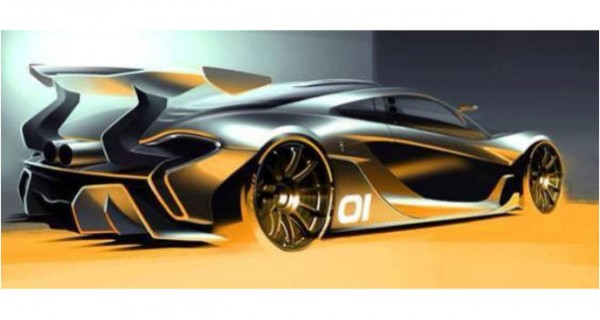 McLaren P1 GTR Official Rendering Leaked