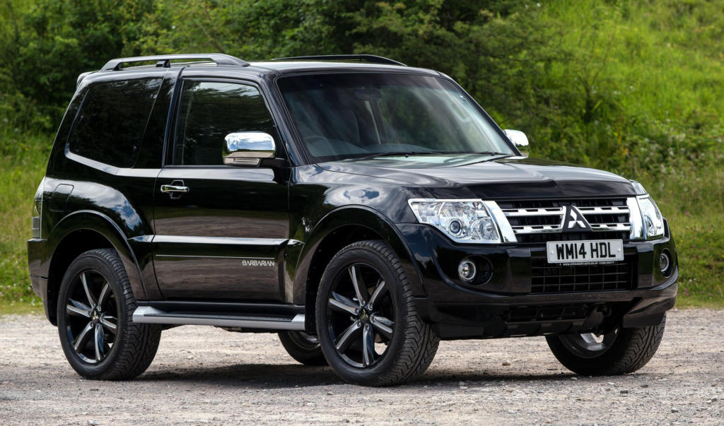 Mitsubishi Shogun Barbarian at Mitsubishi Shogun Barbarian Announced for the UK