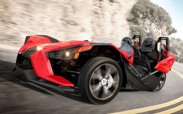 Polaris Slingshot Three-Wheeler Priced from $20K