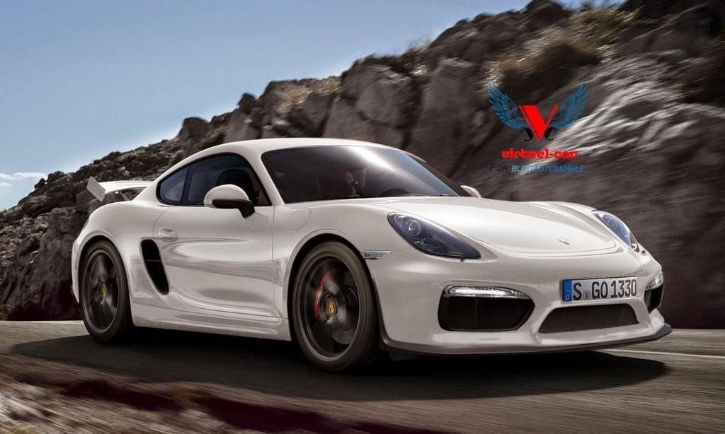 Latest Porsche Cayman GT4 Renderings Look Almost Real