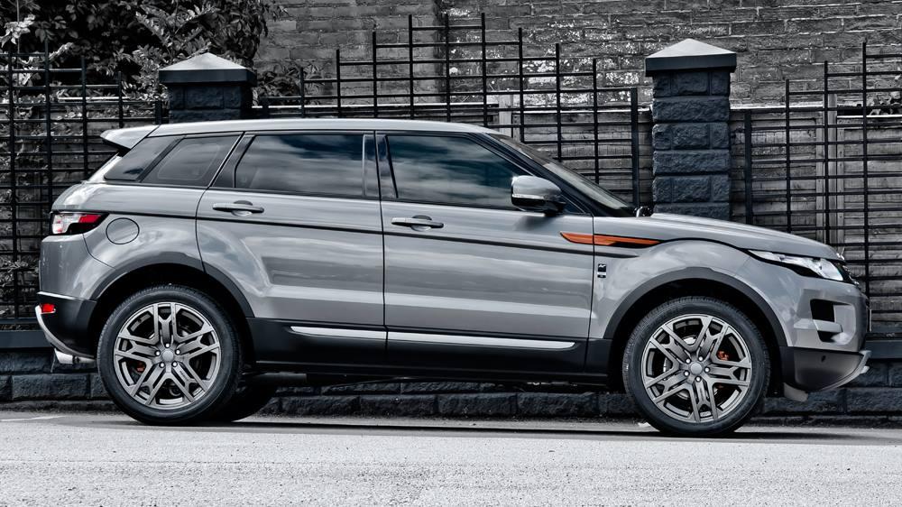 Kahn Design Range Rover Evoque Ground Effect