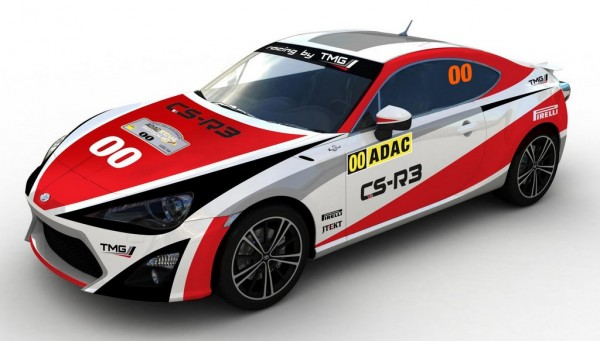 Toyota GT86 CS R3 Rally Car 1 600x341 at Toyota GT86 CS R3 Rally Car Revealed