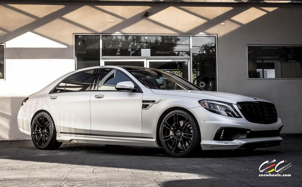 Carlsson Mercedes S Class On Cec Wheels