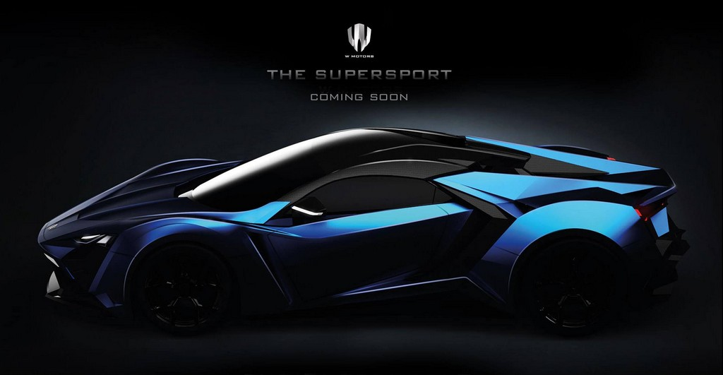 W Motors Lykan Supersport Teased
