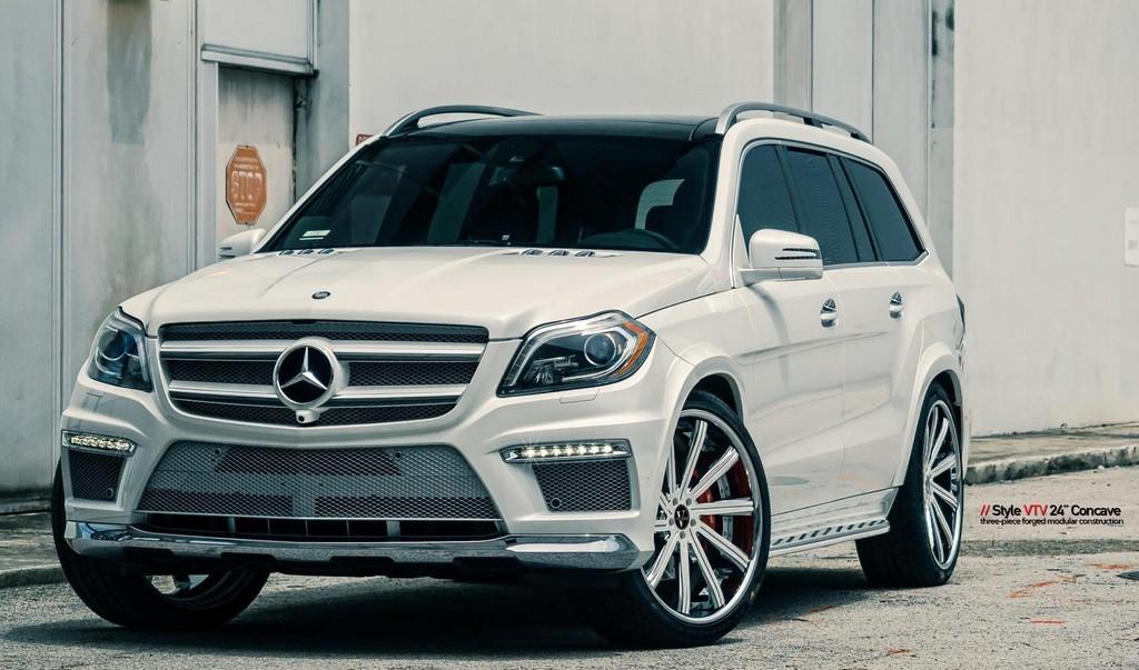 Mc Customs Mercedes Gl With Vellano Wheels