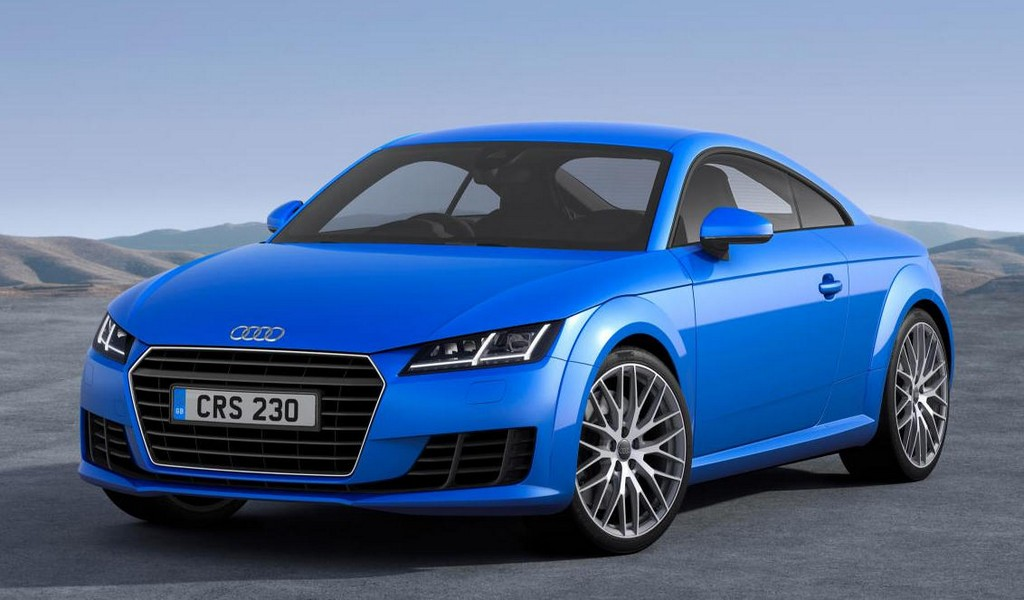 2015 Audi TT UK Pricing Announced