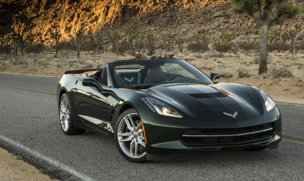 8 Speed Corvette Stingray 1 600x359 at 8 Speed Corvette Stingray Performance Figures Announced