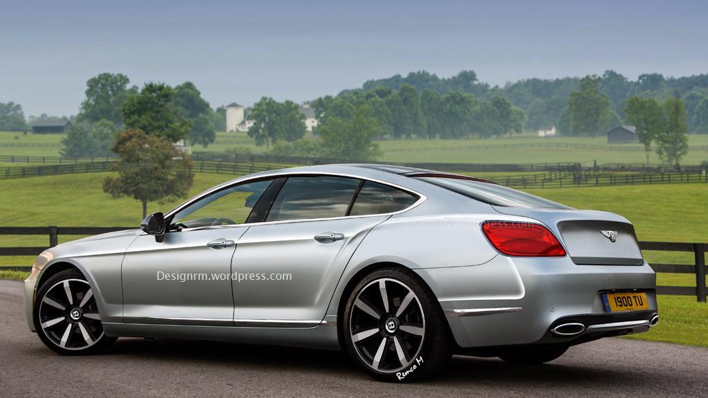 RM Design's Bentley Four-Door Coupe Looks Tasty