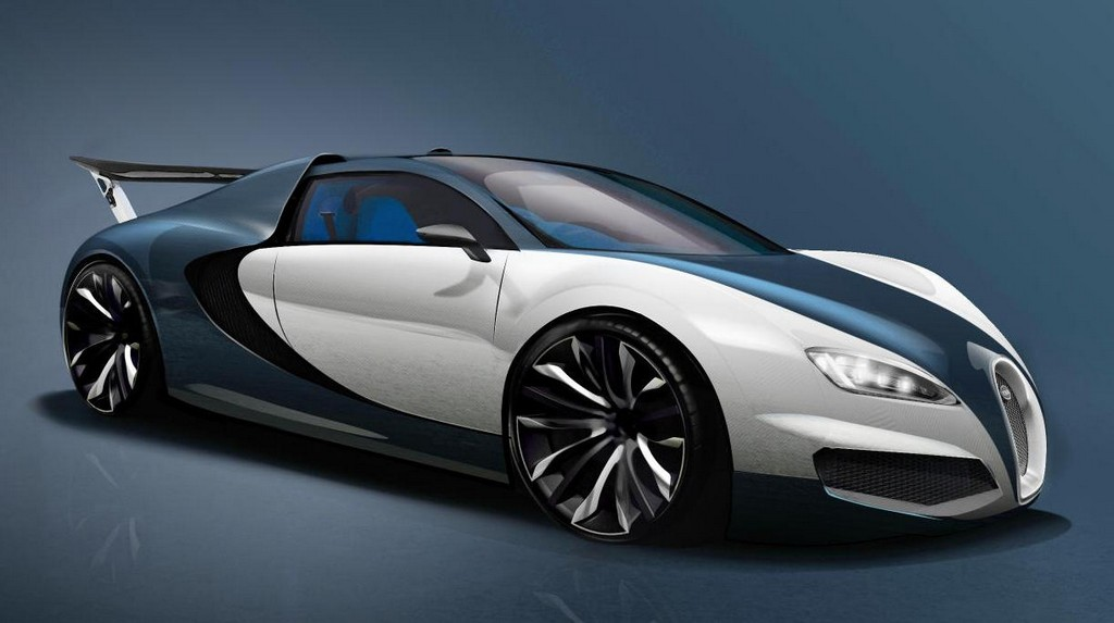 bugatti veyron successor rendering and preliminary specs. Black Bedroom Furniture Sets. Home Design Ideas