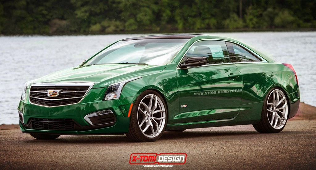 M4-Rivalling Cadillac ATS-V Coupe Rendered