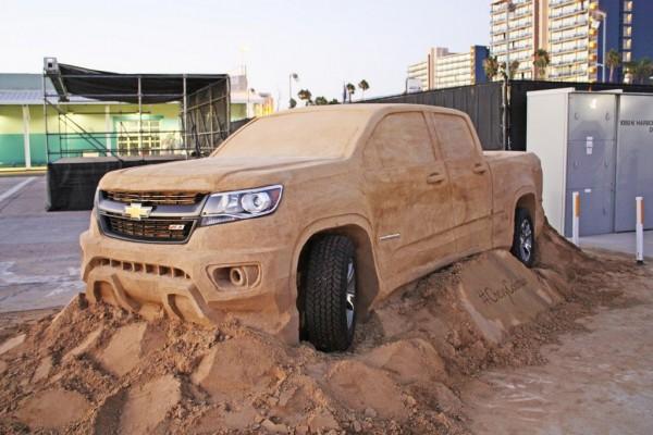 Chevrolet Colorado Sand Sculpture-1