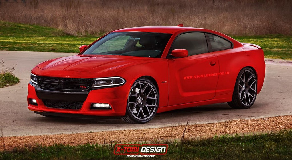 2015 dodge charger coupe rendered. Black Bedroom Furniture Sets. Home Design Ideas