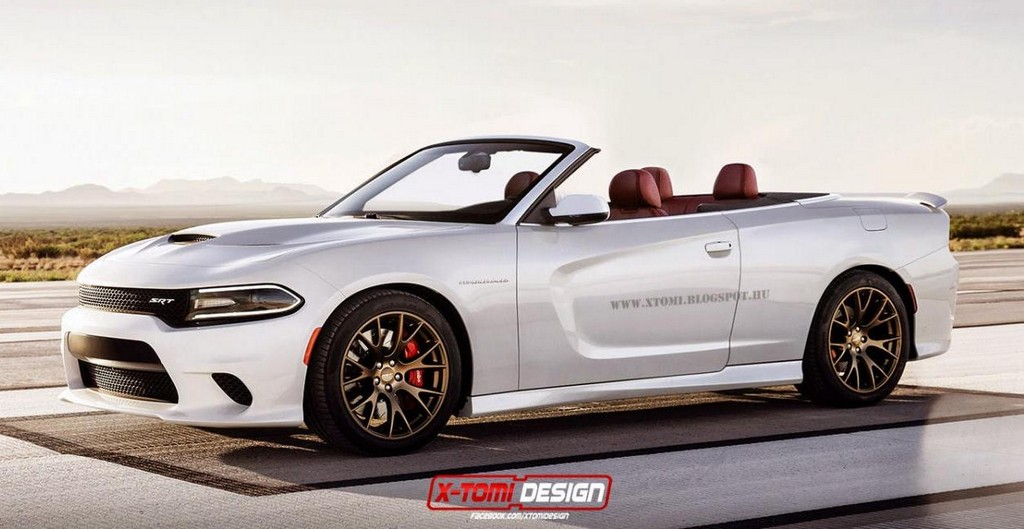 Dodge Charger Hellcat Convertible Pushes The Limits Of