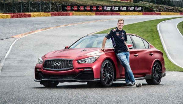 Eau Rouge at Eau Rouge 1 600x341 at Vettel Drives Infiniti Q50 Eau Rouge at Eau Rouge