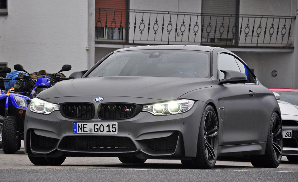 Frozen Grey Bmw M4 Makes You Mad With Desire