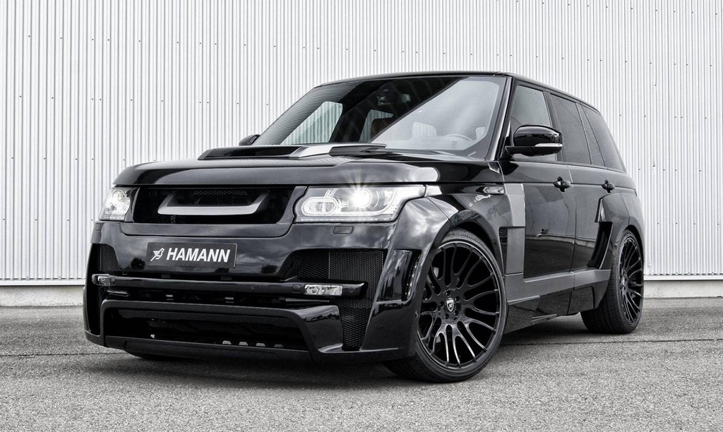 Hamann Range Rover Myst 200 Re In Black