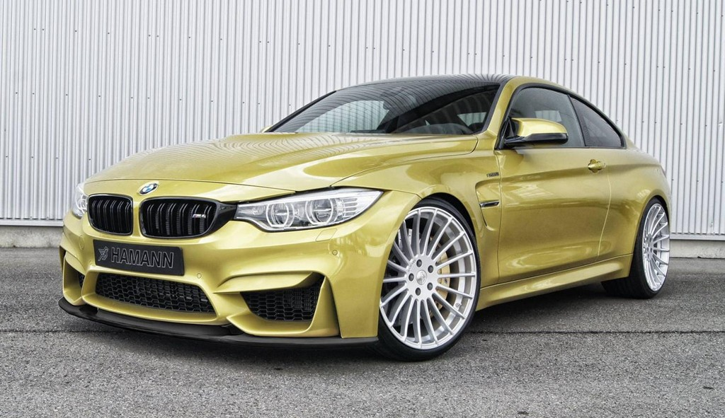 Hamann Bmw M4 Gets A Front Spoiler