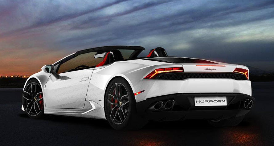 Lamborghini Huracan Rendered As Stradale Spyder And