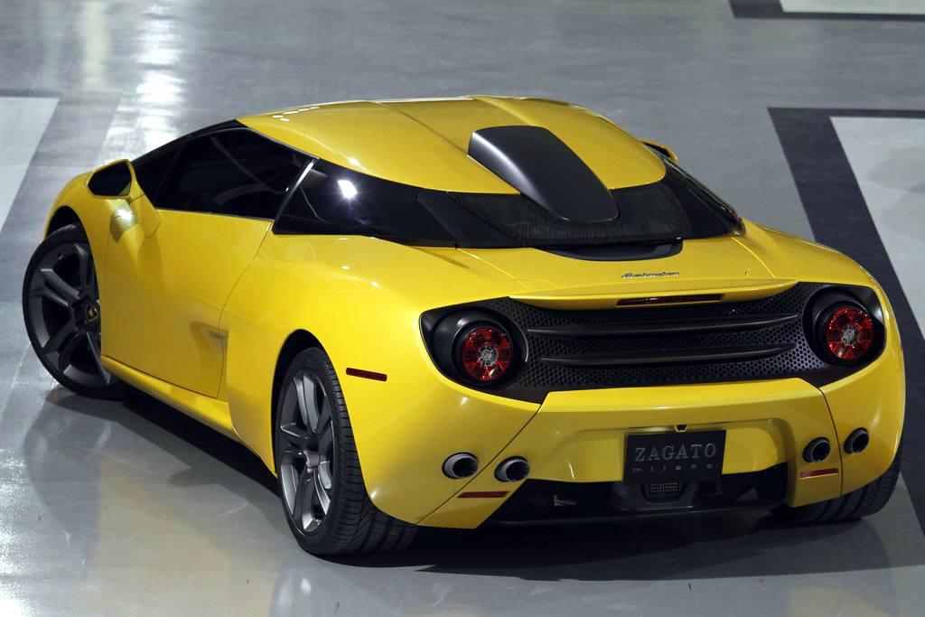 Second Lamborghini 5 95 Zagato Delivered