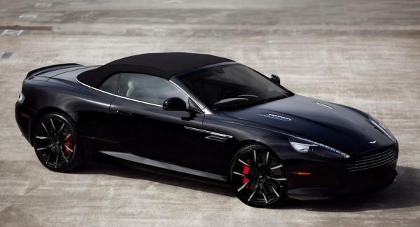 Lexani DB9 1 600x324 at Gorgeous Aston Martin DB9 Volante on Lexani Wheels