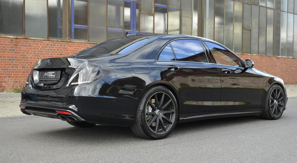 Murdered Out Mercedes S63 Amg By Mec Design