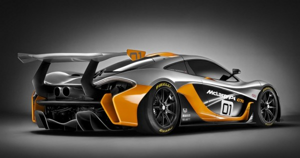 This Is The McLaren P1 GTR