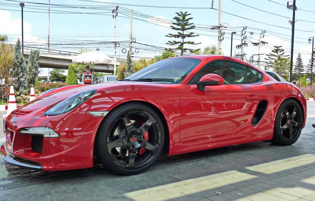 Ruf Porsche Cayman 3800s Looks Sublime