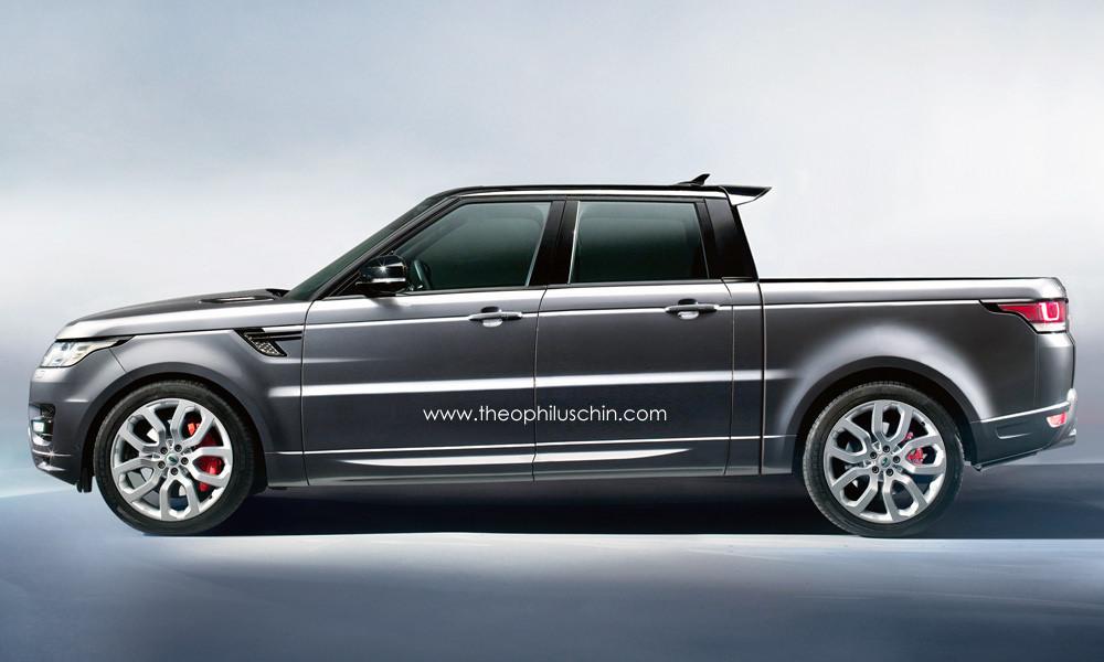 rendering range rover sport pickup truck. Black Bedroom Furniture Sets. Home Design Ideas