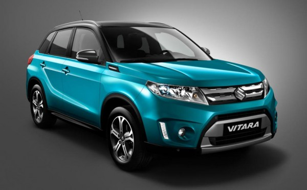 Suzuki Vitara 600x371 at First Look: 2015 Suzuki Vitara