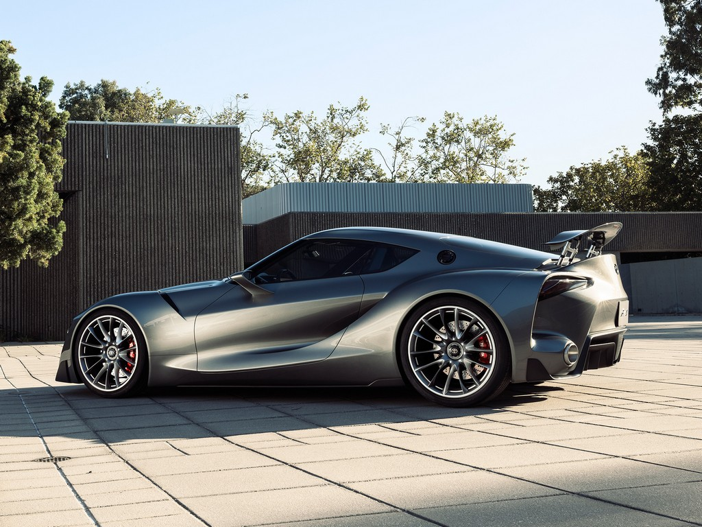 Toyota Ft 1 Graphite Concept Revealed In Monterey