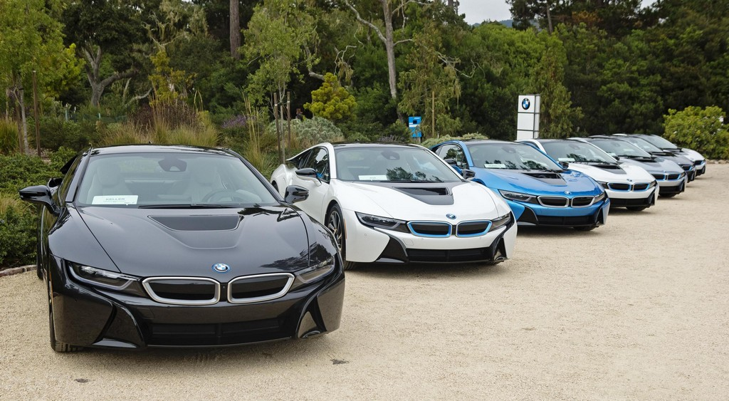 First Us Spec Bmw I8 Sports Cars Delivered At Pebble Beach
